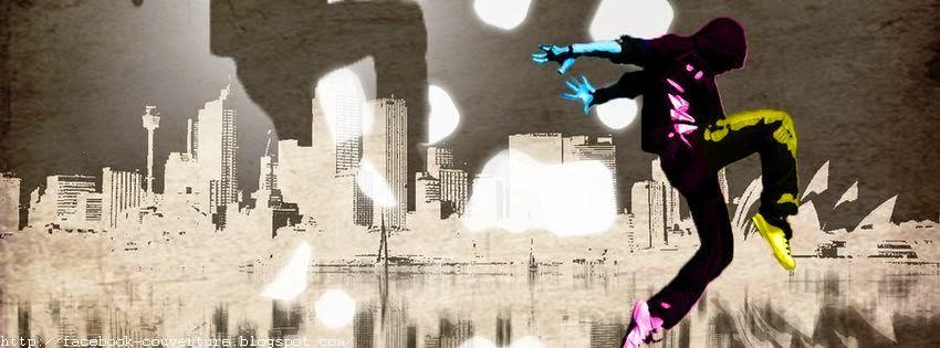 Belle image de couverture facebook street dance