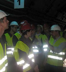 L9 Metro Barcelona Arbetsplatsbesök 2