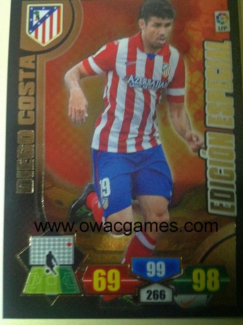 Adrenalyn 2013-14 Diego Costa edición especial