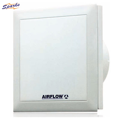Silent Extractor Fan from Airflow, QT100 Quietair