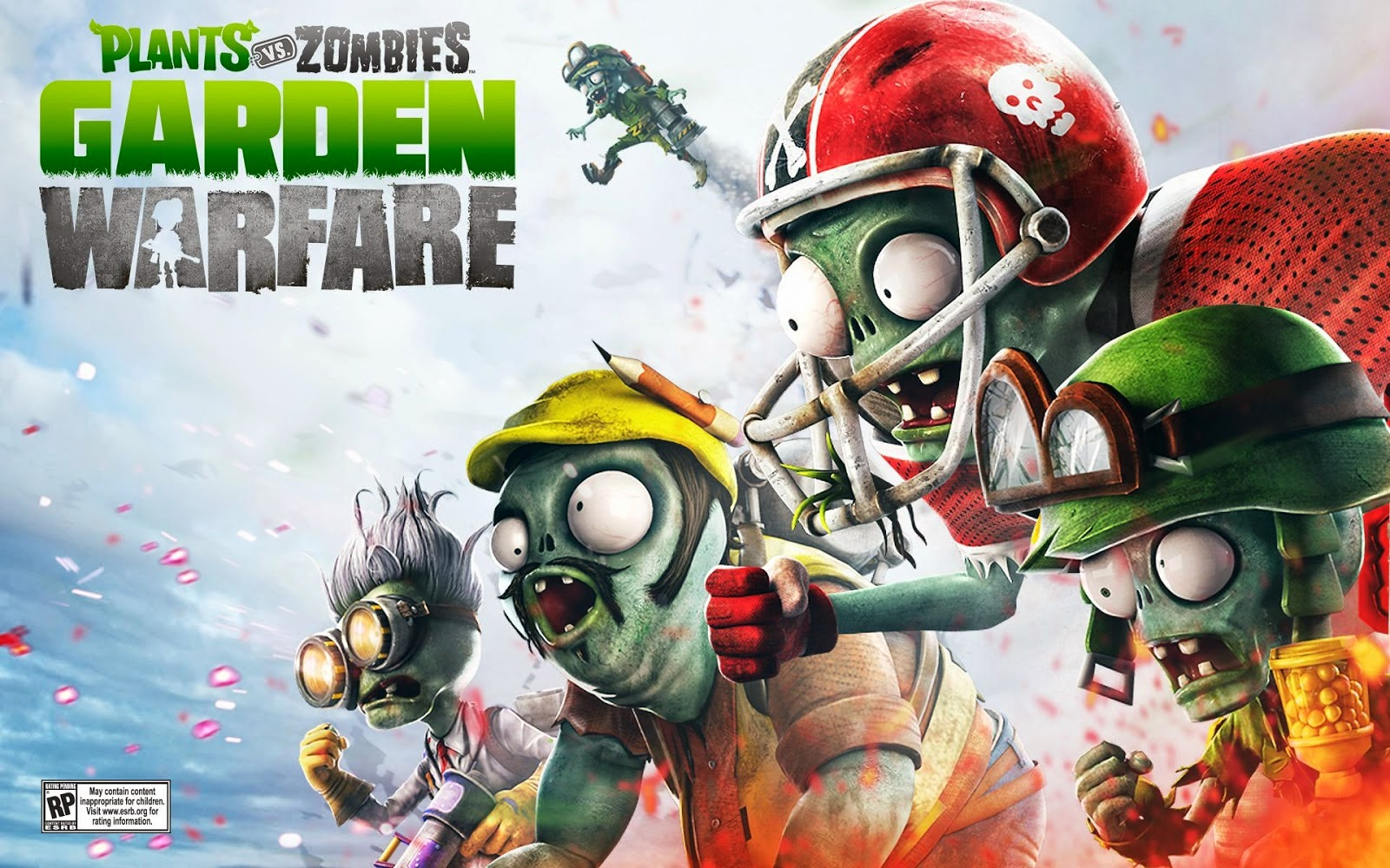 Wallpapersku plants vs zombies garden warfare wallpapers - Free plants vs zombies garden warfare ...