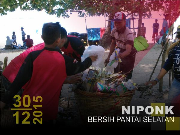NIPONK: Bersih Pantai Selatan 2015
