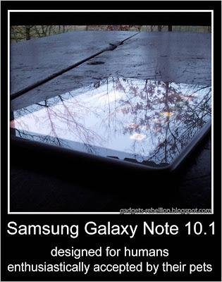 Samsung Galaxy Note 10.1 сделан для людей, но понравится собакам