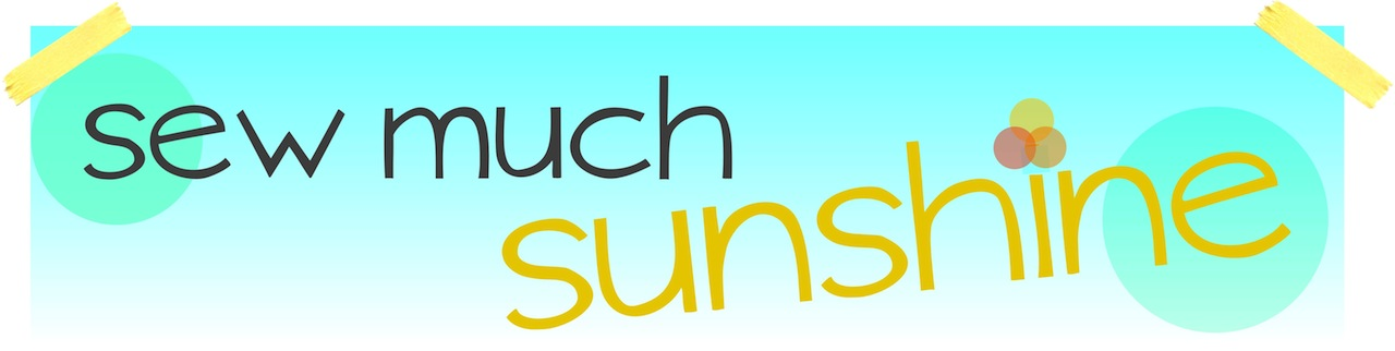 Sew Much Sunshine [to the square inch]