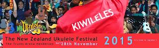 The New Zealand Ukulele Festival 2015, 28th November
