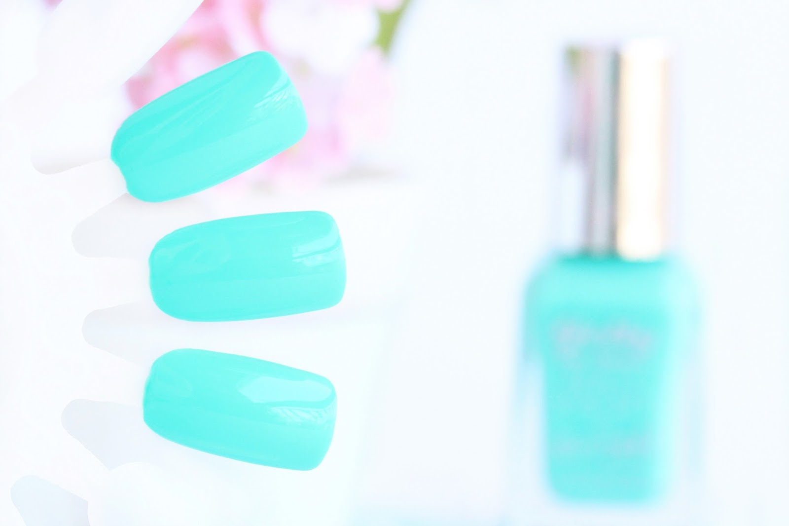Barry M Gelly Hi-Shine Nail Paint in Greenberry Swatches