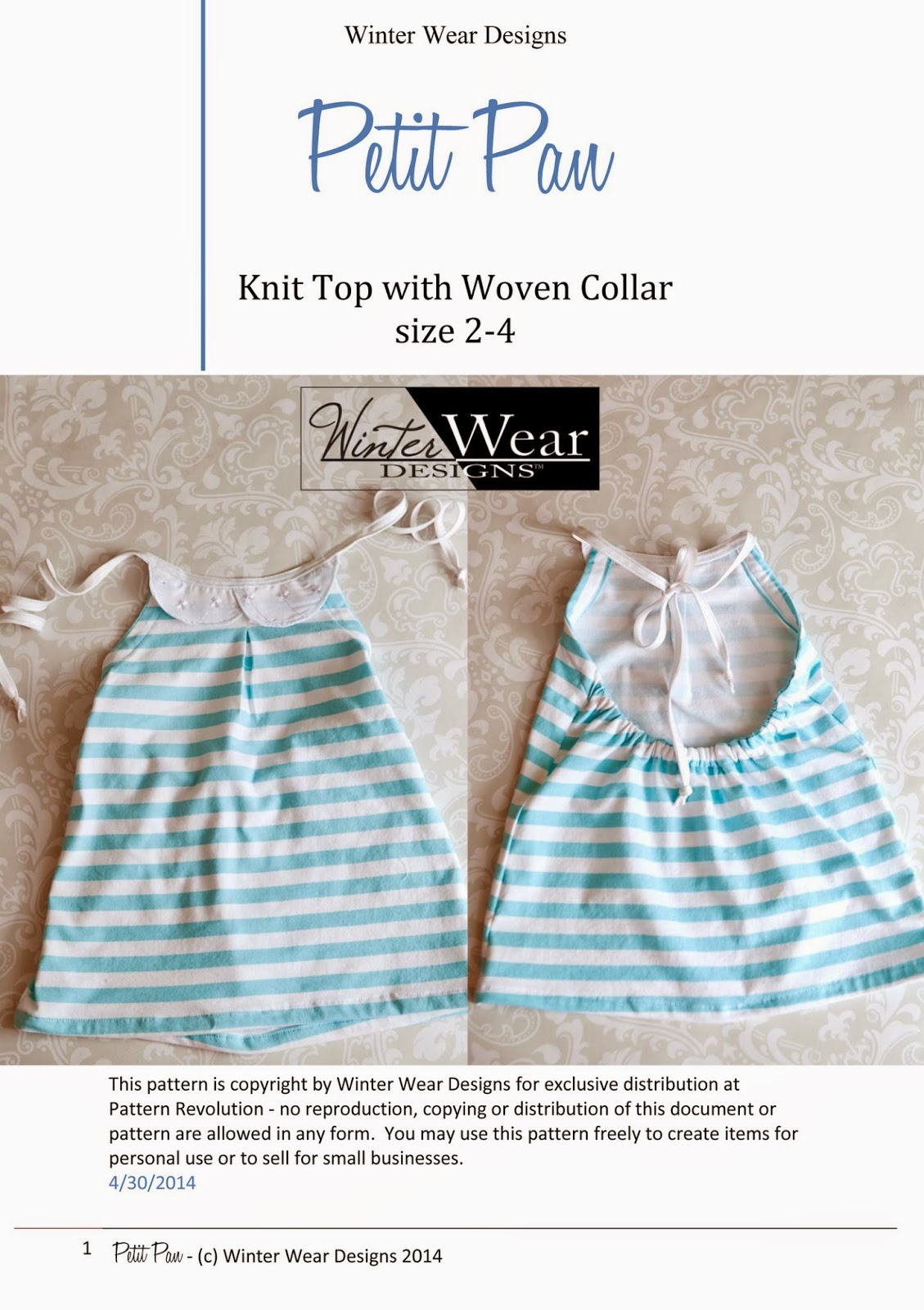 Knit top sewing