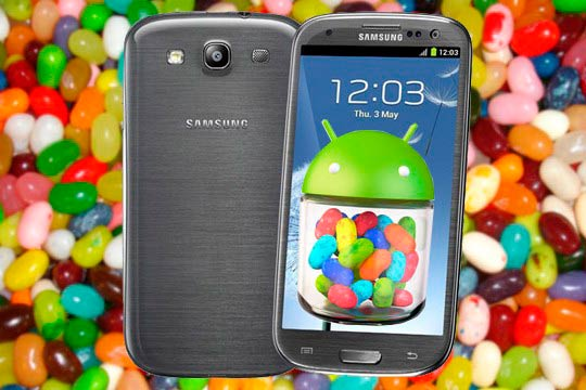 Update Samsung Galaxy S III to Jelly Bean