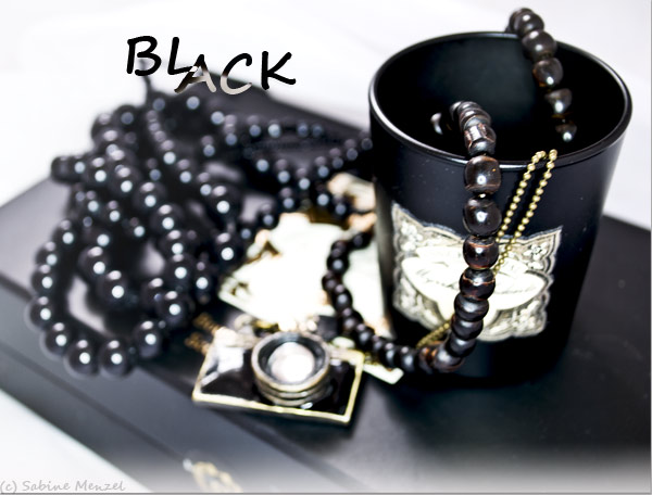 Psynopsis MyFavouriteThings Black Jewellery