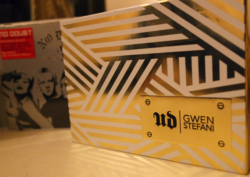 UD X GWEN packaging palette