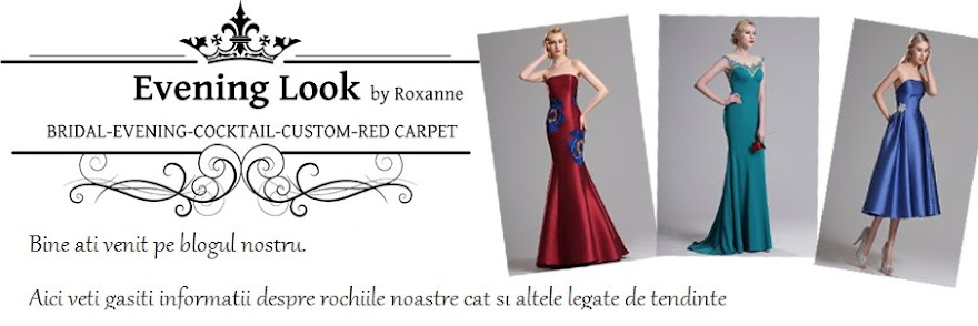 Rochii de seara EVENING LOOK