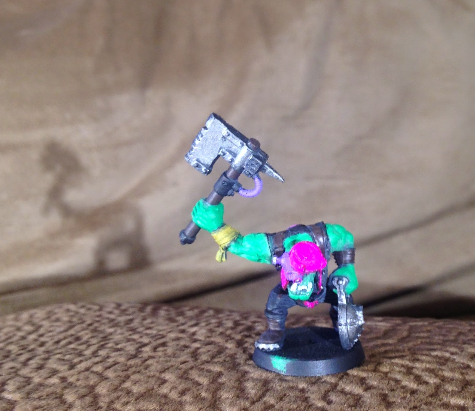 Pink Orks, Pink Orkys, Reversed arm, backward arm, two left arms