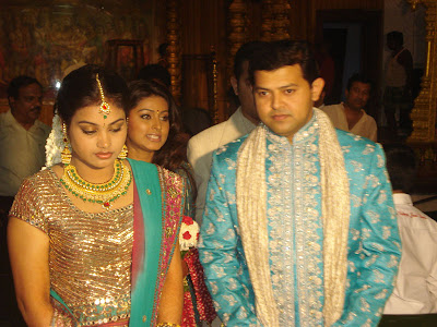 Tamil Actress Simran Wedding Photos