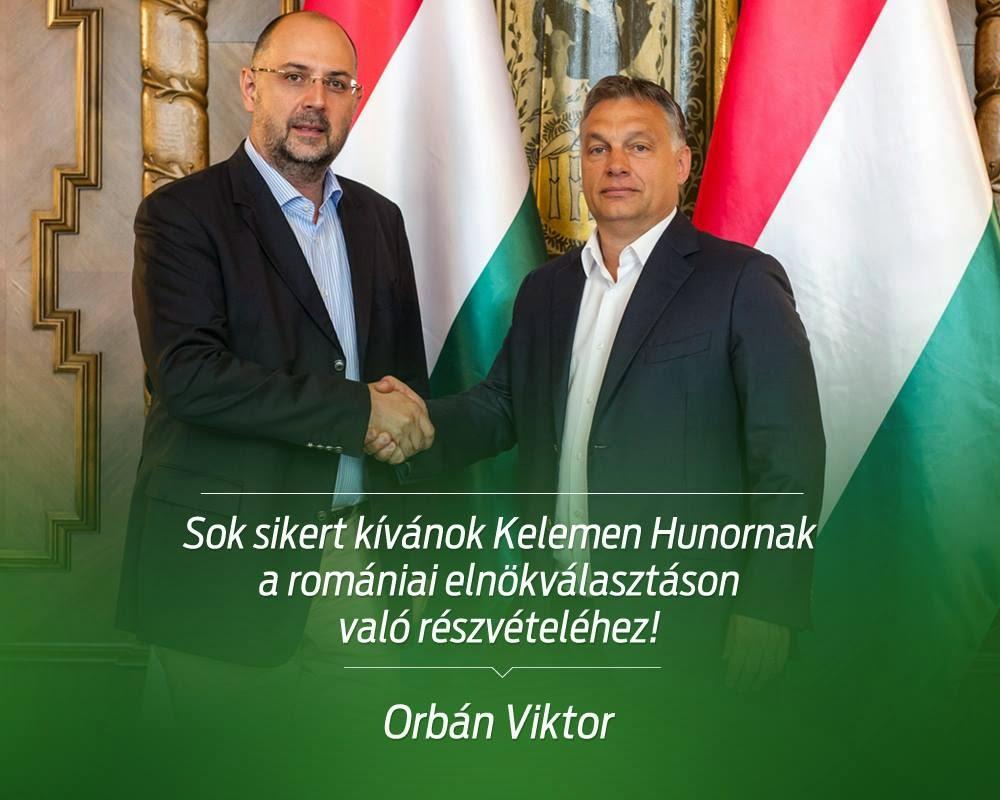 Kelemen Hunor, magyar-román kapcsolatok, magyarság, Orbán Viktor, Románia, Szilágyi Zsolt, államelnök-választások,