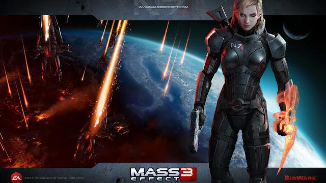 Mass Effect 3 Girl