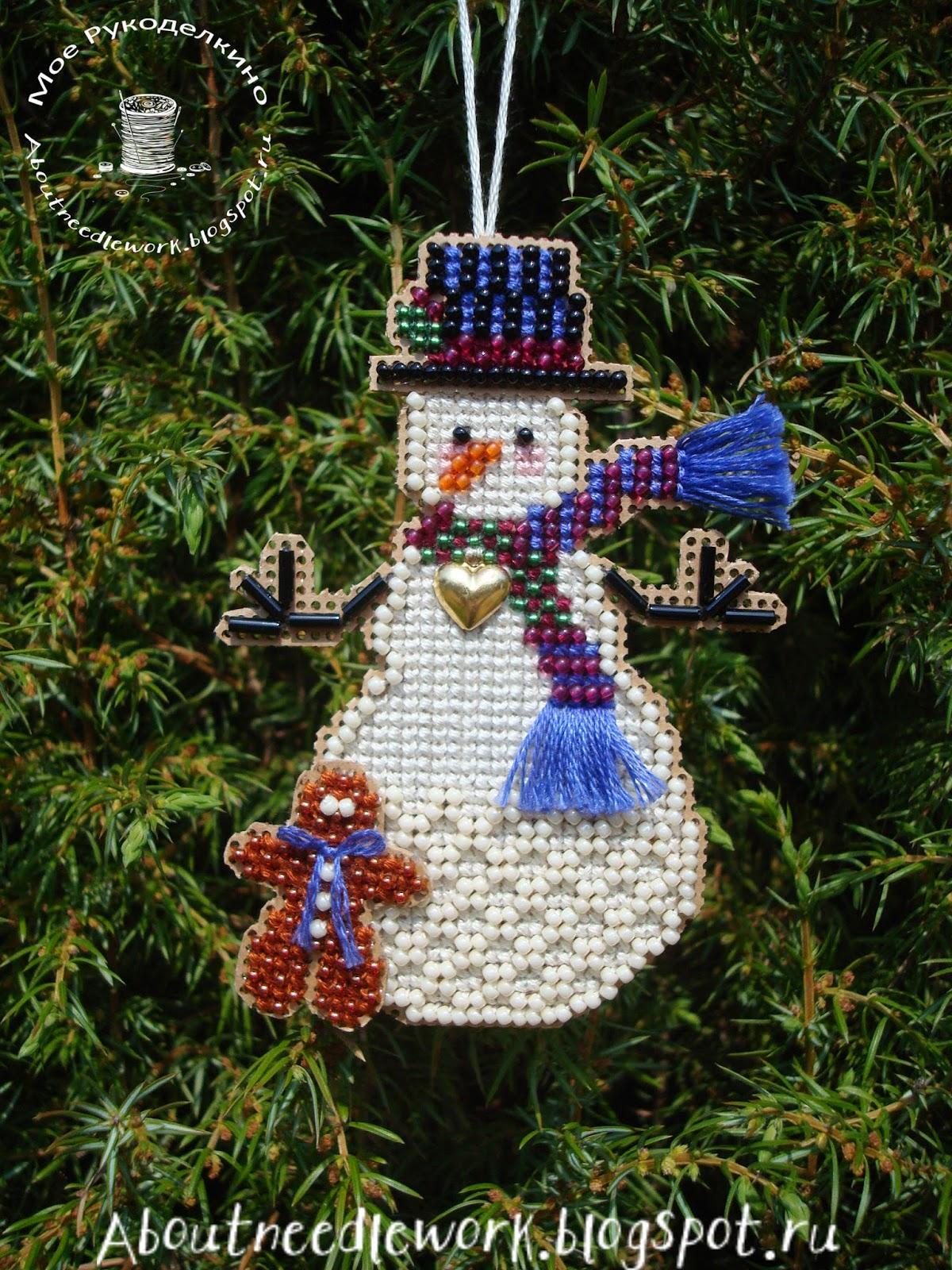 Набор Mill Hill - Снеговик