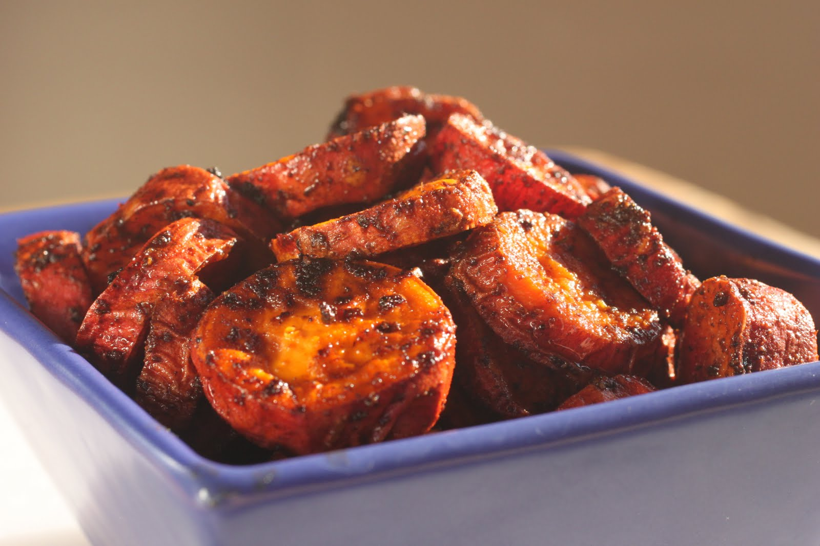 """Spiced sweet potato rounds (""""coins"""")"""