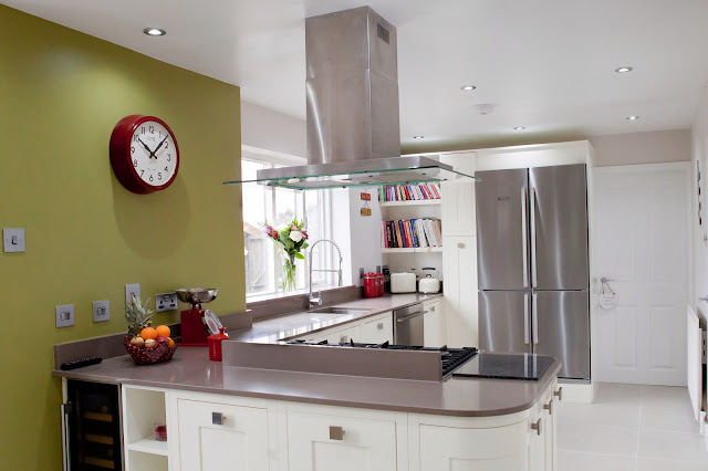 Taditional twist, kitchens, traditional kitchens, Charles rennie mackintosh kitchens, baking, cooking, LED ceiling lights, Krushr appliance, gallery showroom, Lisa Melvin Design, kitchen design
