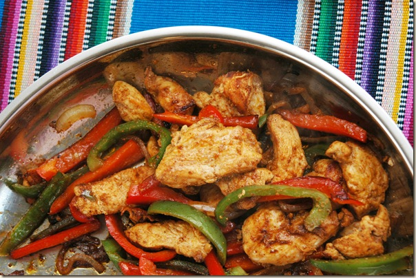 Seed to Feed Me: RECIPE FOR CHICKEN FAJITAS