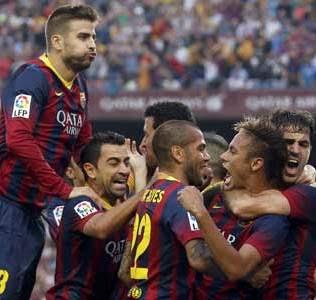 Jalannya Pertandingan Barcelona dan Real Madrid