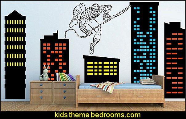 Decorating theme bedrooms Maries Manor spiderman bedroom