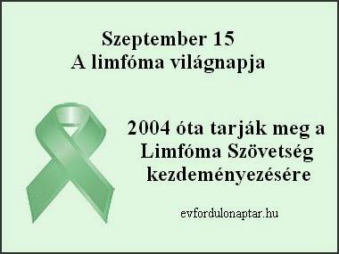 limfóma világnapja