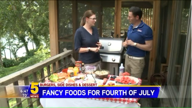 KFSM 5NewsThisMorning July 4th grilling with nwafoodie