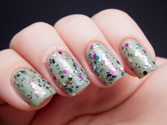 Chalkboard Nails: Urban Lacquer Petallica