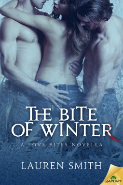 The Bite of Winter vampire romance by Lauren Smith