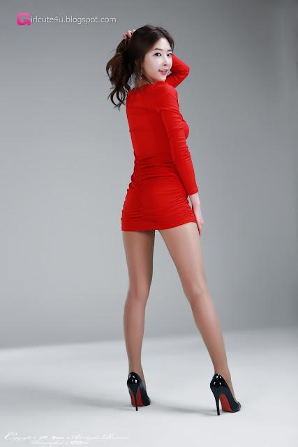 1 Hot Red - Kim Yoo Yeon - very cute asian girl - girlcute4u.blogspot.com