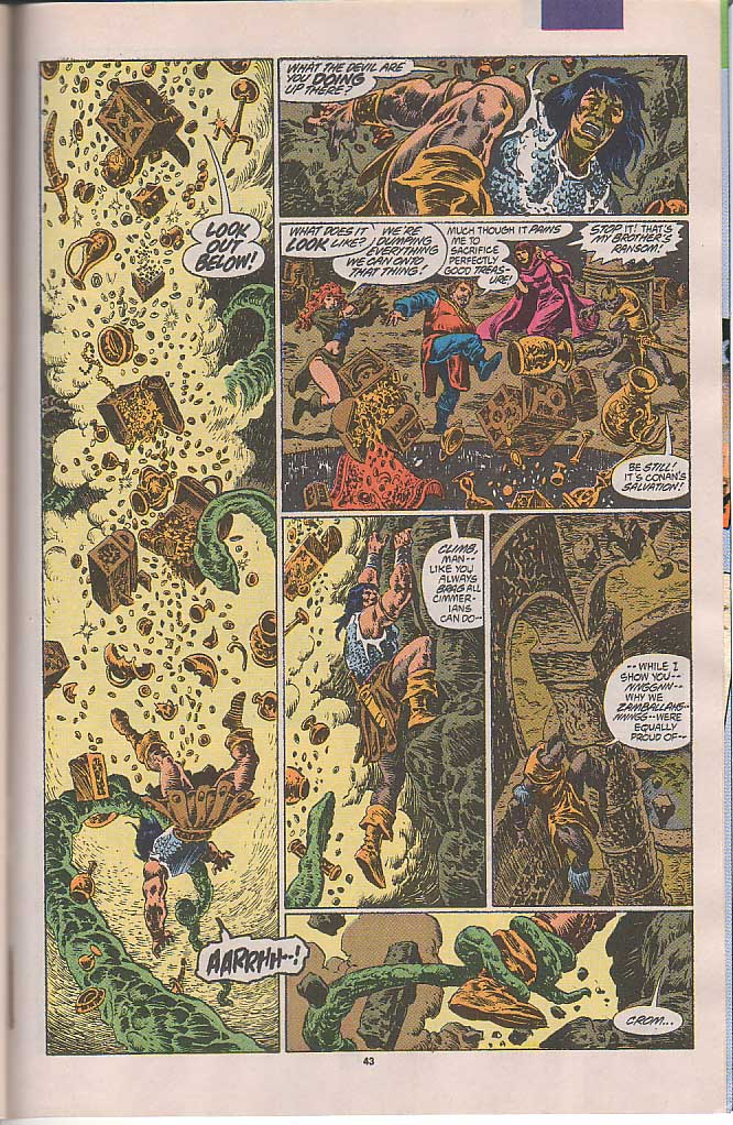 Conan the Barbarian (1970) Issue #250 #262 - English 36