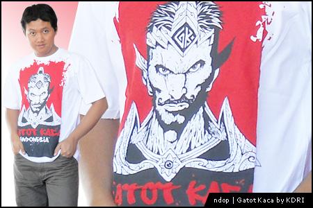 Kaos Gatot Kaca by KDRI