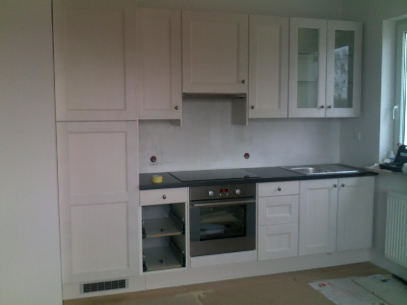 W domu Marty Pierwsze efekty -> Kuchnia Ikea Front