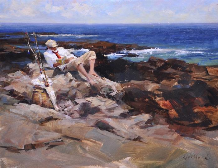 Katie Swatland 1981 | American Figurative painter