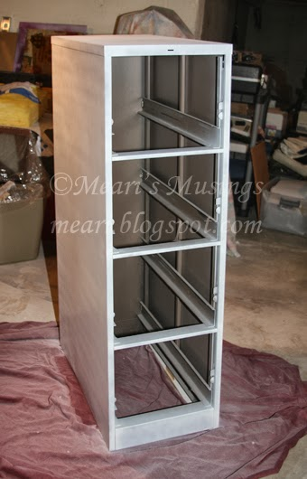 Meari S Musings Diy Filing Cabinet Makeover