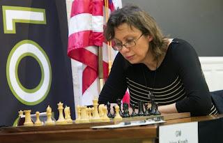 Ronde 4 : Camilla Baginskaite perd pied en seulement 23 coups face à Irina Krush