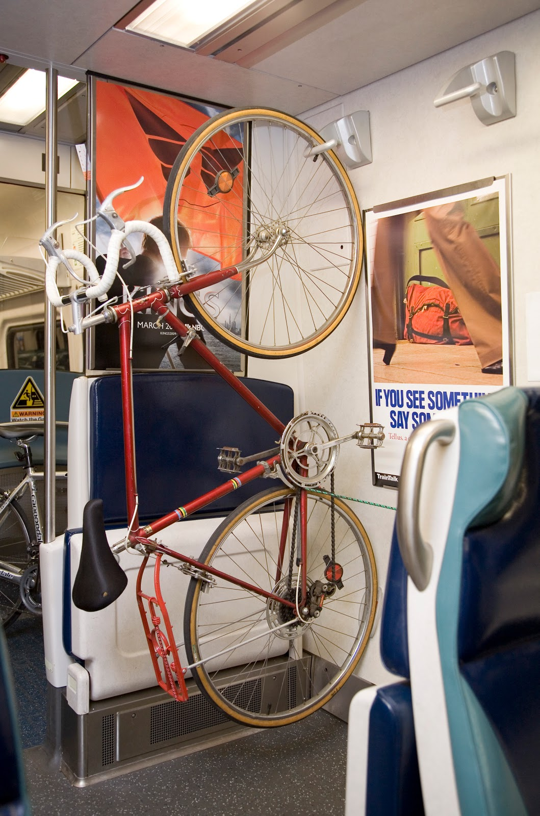 Bikes On Metro North Trains BIKES ON TRAINS Now that we