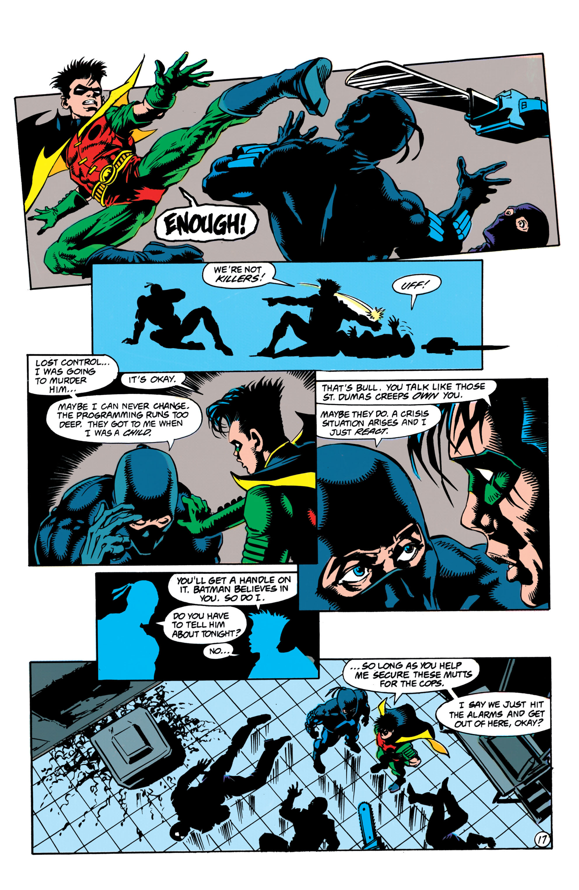 Detective Comics (1937) Issue #657 Page 17