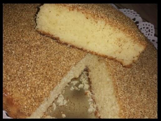 الكيكة الرملية بالسميد وجوز الهند