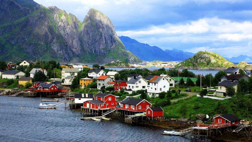 Norwegen am lebenswertesten