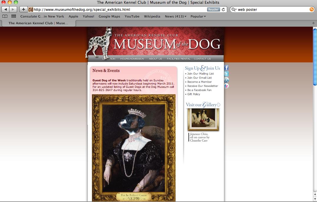 Victor Dog Food Website