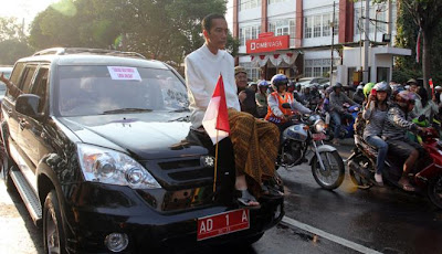 Jokowi Peringkat Tiga Walikota Terbaik se-Dunia
