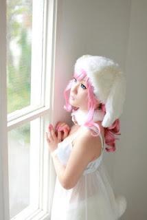 Koyuki cosplay as Rabbit Beart from Animal