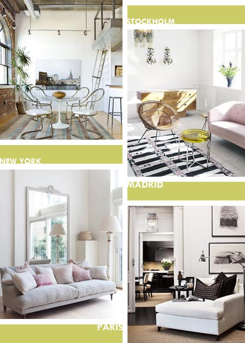 Cuatro estilos decorativos cosmopolitasfour cosmopolitan for Estilos decorativos