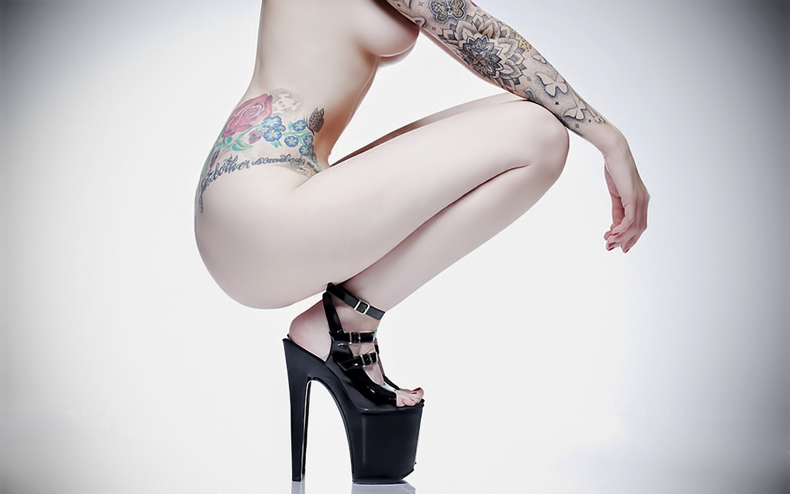 Best tattoo girl collection in the world - Flower