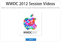 Videos from the WWDC 2012