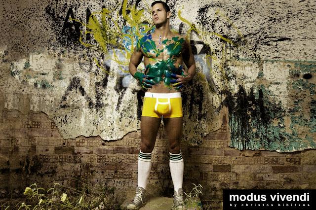 Modus Vivendi underwear line Painter