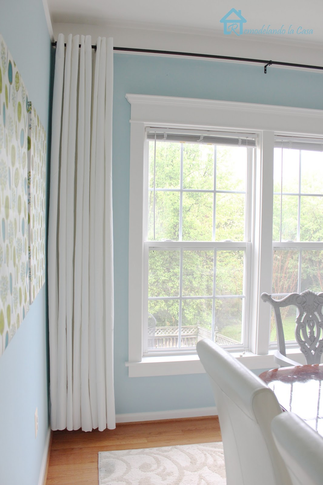Remodelando la Casa: How to Make your Curtains Longer