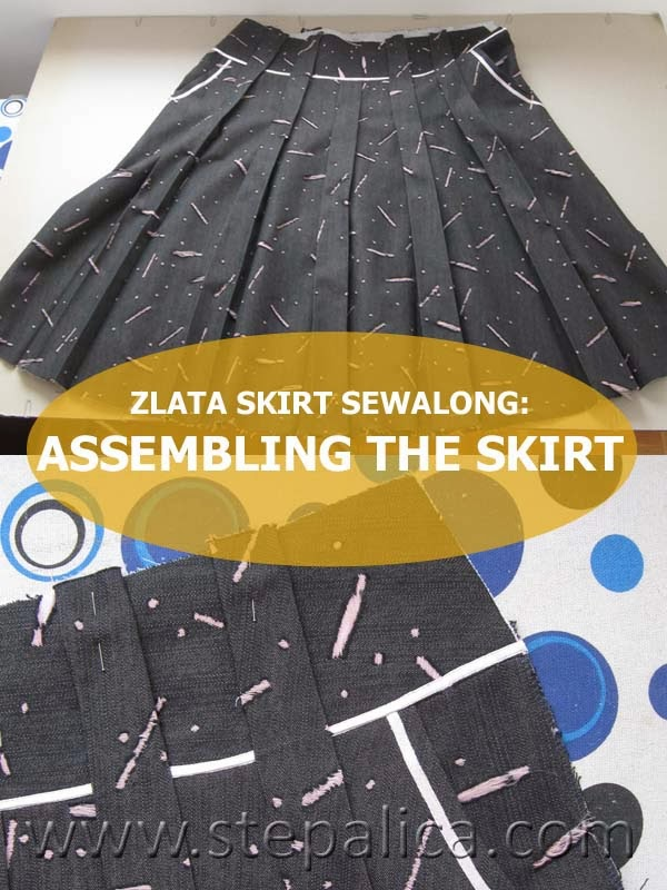 Zlata skirt sewalong: #9 Assemble the skirt