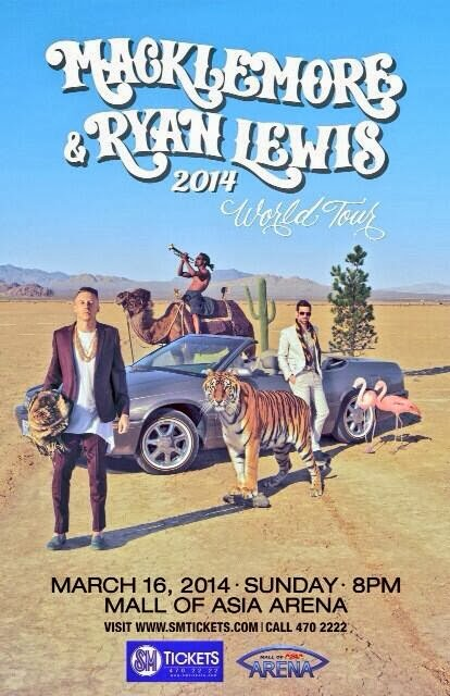 Macklemore & Ryan Lewis World Tour 2014